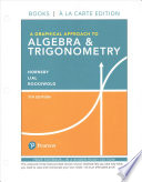 Graphical Approach to Algebra and Trigonometry, A, Books a la Carte Edition