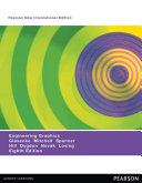 Engineering Graphics  Pearson New International Edition Book
