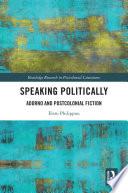 Speaking Politically