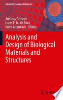 Analysis And Design Of Biological Materials And Structures Book PDF