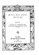 The Tudor Shakespeare  Much ado about nothing Book