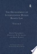 The Development Of International Human Rights Law