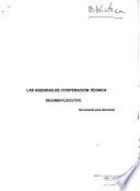 Las Agendas de Cooperacion Tecnica Resumen Ejecutivo