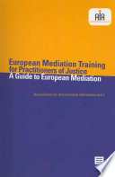 European Mediation Training For Practitioners Of Justice
