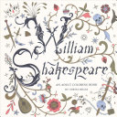William Shakespeare Adult Coloring Book