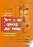 Chemical and Bioprocess Engineering Book