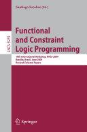 Functional and Constraint Logic Programming Pdf/ePub eBook