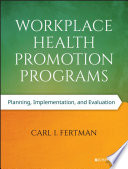 Workplace Health Promotion Programs Book PDF