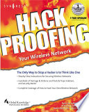 Hackproofing Your Wireless Network Book