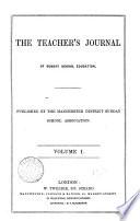 The Teacher s journal of Sunday school education