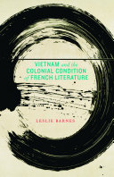 Vietnam and the Colonial Condition of French Literature Pdf/ePub eBook