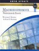 Macroeconomics  Principles and Policy  Update 2010 Edition