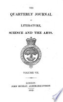 The Quarterly journal of literature, science and the arts