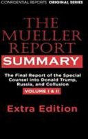 The Mueller Report Hardcover Extra Summary Editon