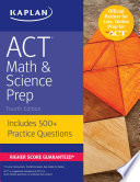 ACT Math   Science Prep
