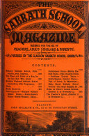 The Sabbath school magazine  ed  by W  Keddie