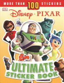 Disney Pixar Ultimate Sticker Book  New Edition
