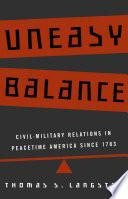 Uneasy Balance