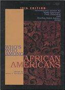 Who s who Among Black Americans