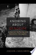 Öffnen Sie das Medium Knowing about genocide von Savelsberg, Joachim Josef im Bibliothekskatalog