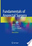 Fundamentals of Anorectal Surgery Book