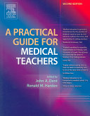 A Practical Guide For Medical Teachers Book PDF
