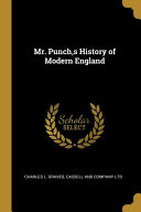 Mr  Punch  S History of Modern England