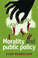Morality and Public Policy - Seite 132