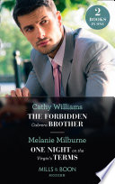 The Forbidden Cabrera Brother   One Night On The Virgin s Terms  The Forbidden Cabrera Brother   One Night on the Virgin s Terms  Mills   Boon Modern