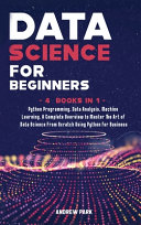 Data Science For Beginners Book PDF