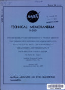 Dynamic Stability and Dispersion of a Project Mercury Test Capsule Upon Entering the Atmosphere  with Effects of Roll Rate  Center of gravity Displacement  and Threshold of a Rate reaction Control System