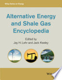 Alternative Energy and Shale Gas Encyclopedia Book