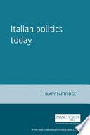 Italian Politics Today