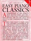 The Library of Easy Piano Classics Book PDF