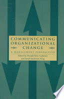 Communicating Organizational Change