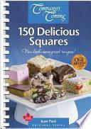 """""""150 Delicious Squares"""" by Jean Paré"""