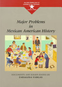 Major Problems in Mexican American History Book