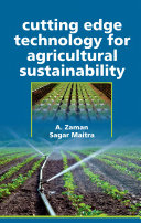 Cutting Edge Technology For Agricultural Sustainability Book PDF