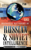 Pdf Historical Dictionary of Russian and Soviet Intelligence