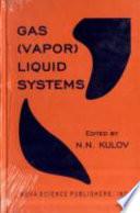 Gas  vapor  Liquid Systems