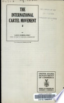 The International Cartel Movement