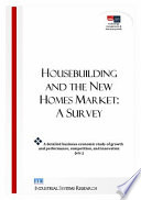Housebuilding   the New Homes Market