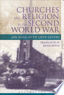 Churches And Religion In The Second World War
