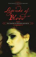 Legends Of Blood Book