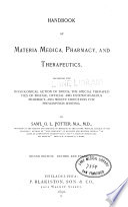 Handbook of Materia Medica
