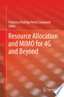 Resource Allocation And Mimo For 4g And Beyond Book PDF
