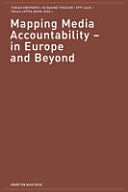 Mapping Media Accountability - in Europe and Beyond