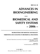 Advances In Bioengineering 2006 Book PDF