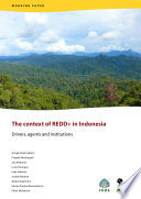 The context of REDD+ in Indonesia: Drivers, agents and institutions