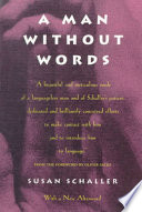 link to A man without words in the TCC library catalog